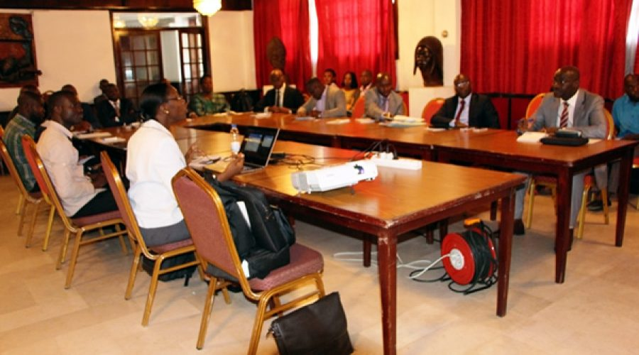 Senior management of parliament in Abidjan Trained on computer security