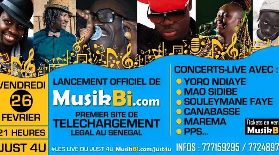 Lancement officiel de la plateforme Musik Bi