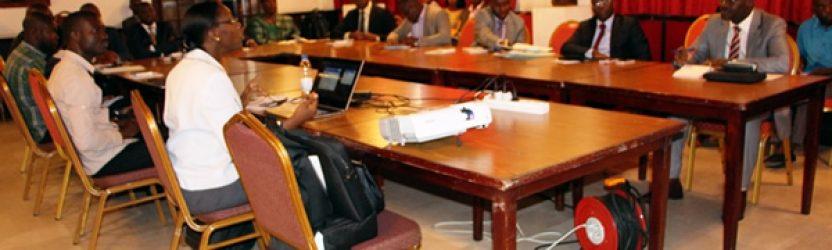 La haute direction du parlement a Abidjan formée sur la sécurité informatique